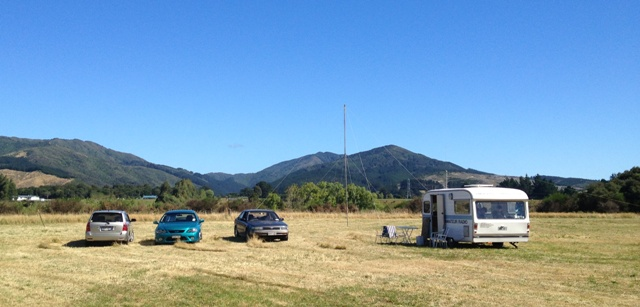 Field Day 2013 at the Kaitoke Waterworks